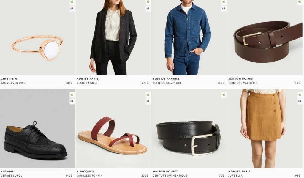 L'Exception, vêtements, accessoires et déco en partie made in France.