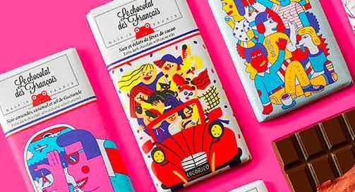 Le Chocolat des Français  : le chocolat qui allie qualité, art et fabrication française