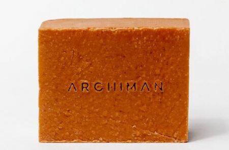 Savon Archiman pour homme, fabriqué en France.