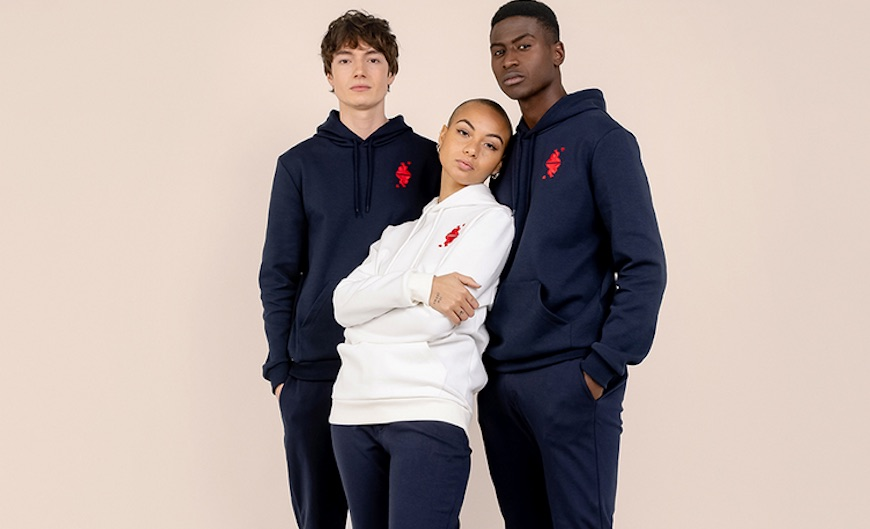 Le Coq Sportif : t-shirts et hoodies made in France