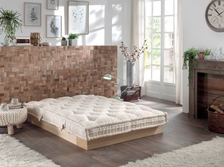 Le Matelas Vert, naturel et made in France
