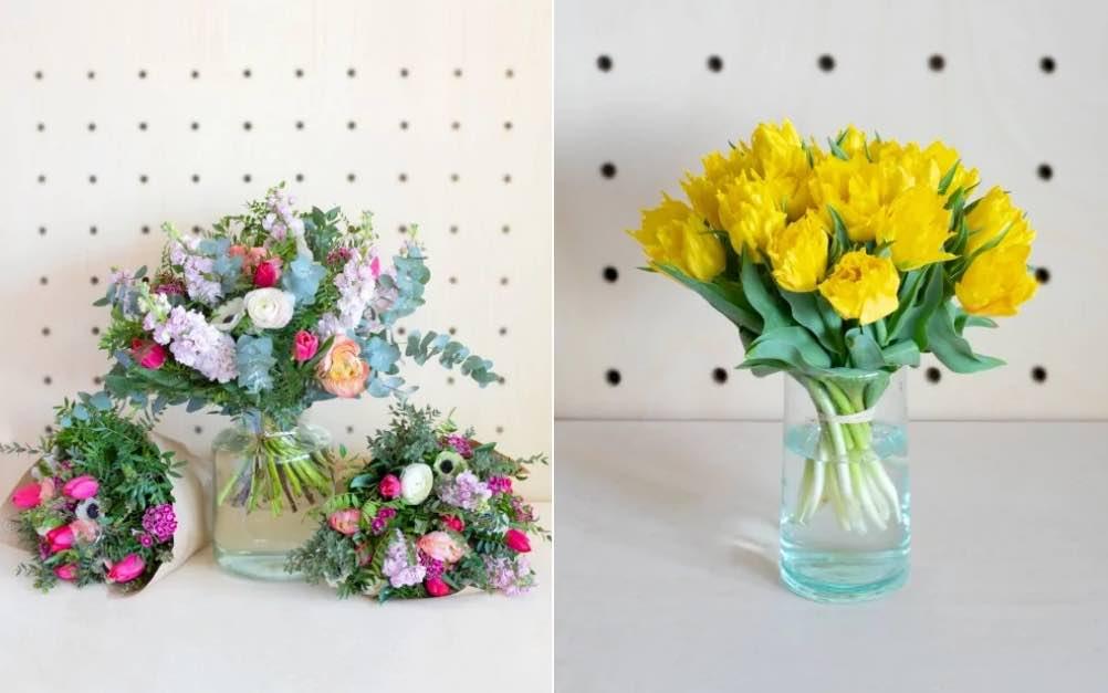 Monsieur Marguerite propose des bouquets ou des fleurs en bottes exclusivement cultivées en France.