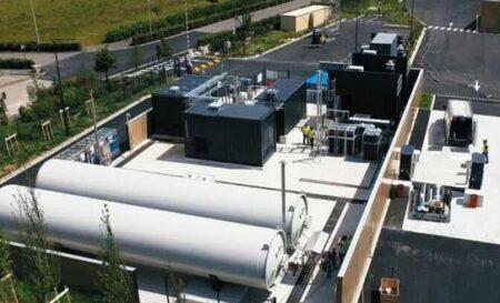 Stations de recharge hydrgène pour les bus, dans les Haut-de-France.