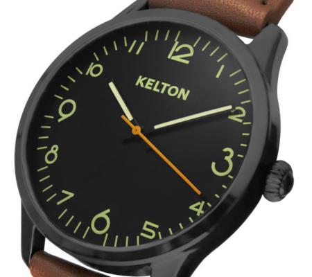 Montre Kelton Pilote, assemblée en France.