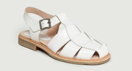 Sandales Paraboot Iberis, pour homme et femme, fabriquées en France.