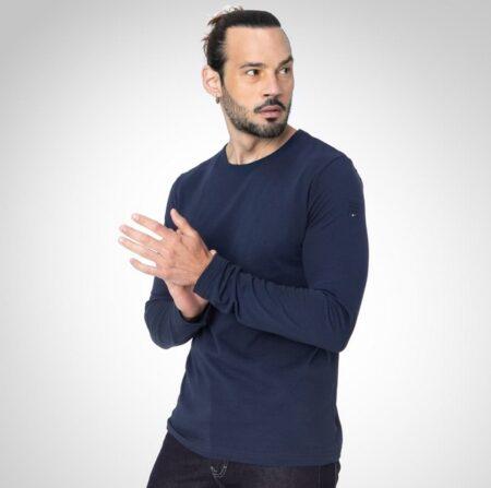T-shirt manches longues fabriqué en France, TBS.