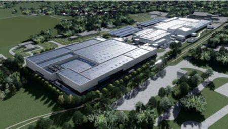 L'usine de fabrication de batteries ACC serie implantée dans le Nord de la France.