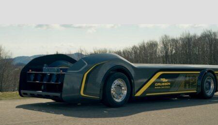 Châssis de camion électrique construit pas Gaussin.