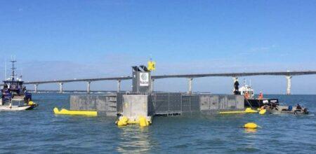 Installation pilote Hace Energy, près de La Rochelle.