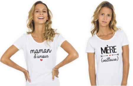 Le Roi du T-shirt fabrique une partie de ses modèles en France.
