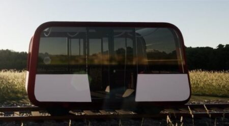 Module, Taxirail, petit train autonome.