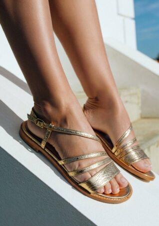 Sandales femme fabriquées en France, un si beau pas.