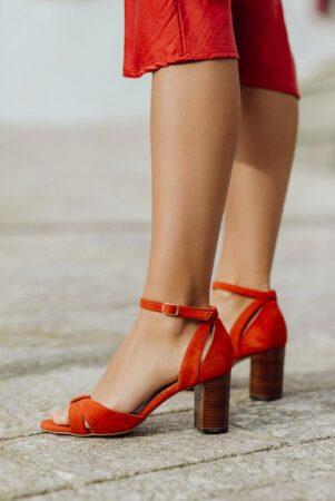 Sandales talon Un si beau pas, fabriquées en France