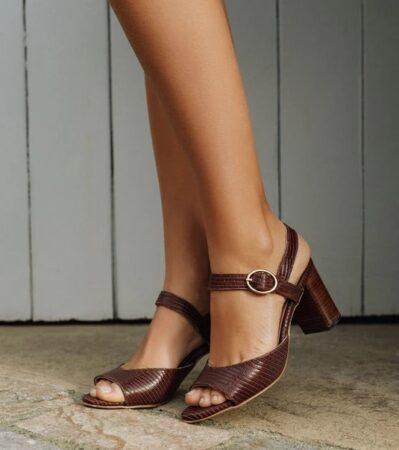 Un si beau pas : sandales femme à talon, made in France.