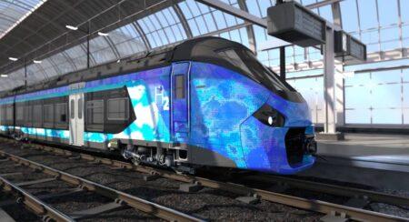 Train hydrogène Alstom.