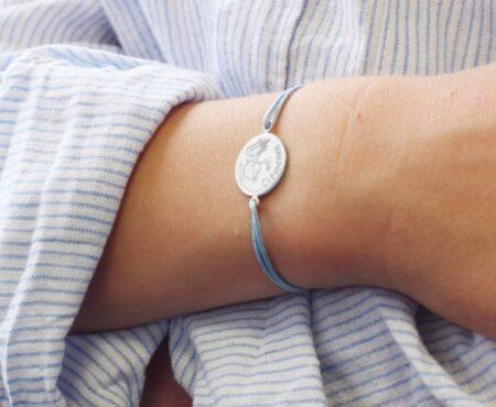 Bracelet femme en argent, made in France. Marmottine.fr