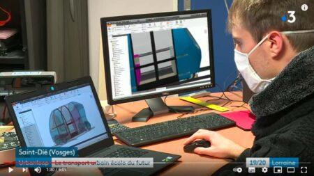 Urbanloop est développé par les étudiants d'une dizaine d'écoles d'ingénieurs, en Lorraine.