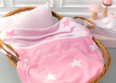B. Solfin : couverture bébé made in France, en laine mérinos.