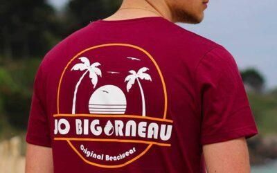 Casquette et t-shirt made in France chez Jo Bigorneau
