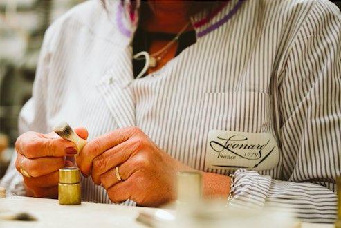 Léonard, pinceaux fabriqués en France pour le maquillage