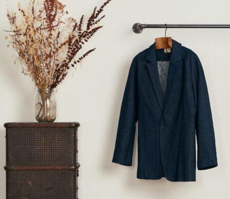 Le Modeste : veste tailleur pour homme, fabriquée en France.