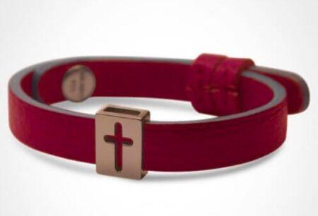 Bracelet de baptême, fabriqué en France. Marmottine.fr