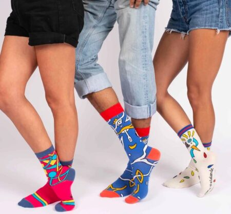Chaussettes artistiques made in France, Label Chaussette