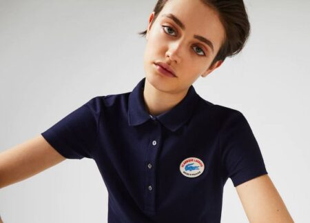 Polos Lacoste femme made in France.