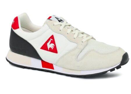 Sneaker Omega Le Coq Sportif, fabriquée en France.