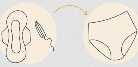 Une culotte périodique absorbe autant que plusieurs tampons.