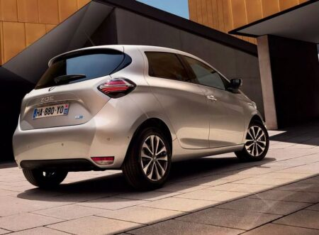 Renault Zoe, made in France.
