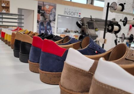 Nouveaux sneakers AtelierPM, made in France.